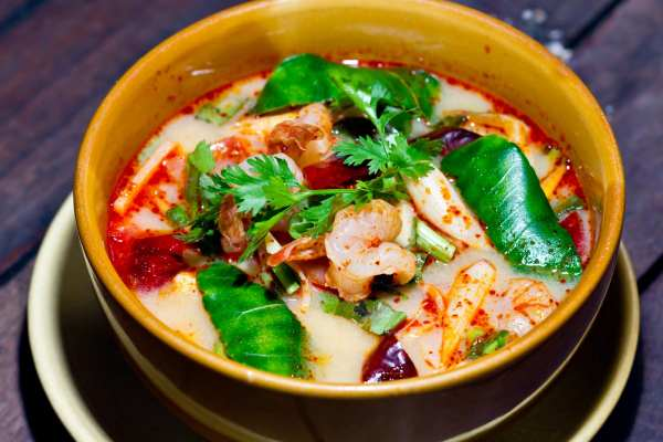 Thai soup delivery in Edinburgh